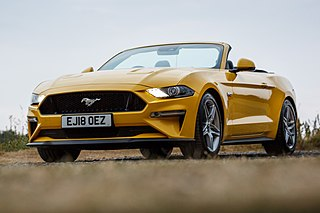 Ford Mustang (sixth generation) Automobile model