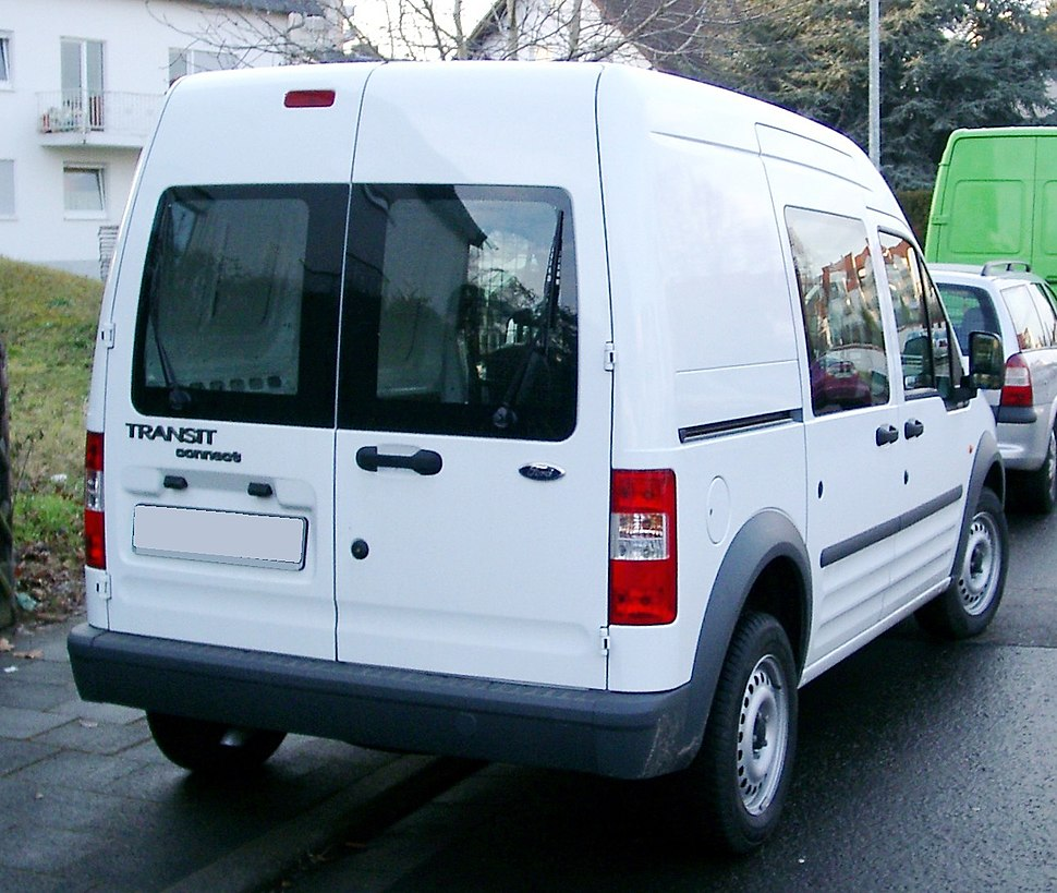 Ford Transit Connect rear 20080110