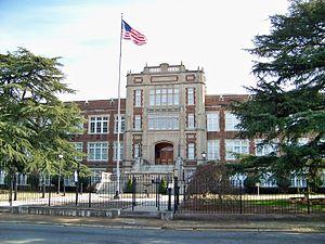 Gastonia High School - Image: Former Gastonia High School Now Ashley Arms Apartments