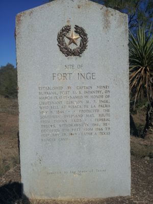 Fort Inge - Image: Fort Inge 4A