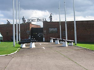 Fort Paull - Image: Fort Paull Entrance