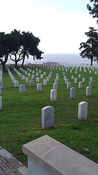 Robert Burnham Jr. - Fort Rosecrans National Cemetery