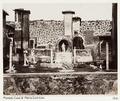Fotografi Casa di Marco Lucrezio, Pompeji - Hallwylska museet - 107902.tif