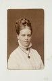 Fotografiporträtt på Augusta Bergman - Hallwylska museet - 107665.tif
