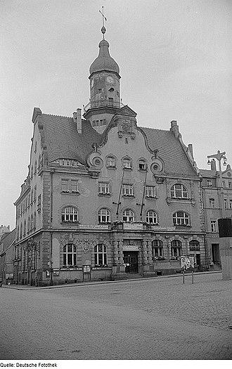 Geringswalde - Image: Fotothek df roe neg 0006351 024 Rathaus von Geringswalde