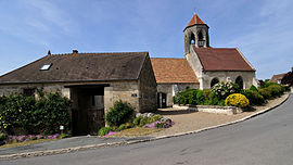 The church in Foulangues