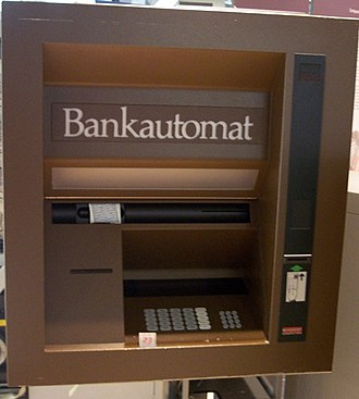 Automated teller machine - An old Nixdorf ATM