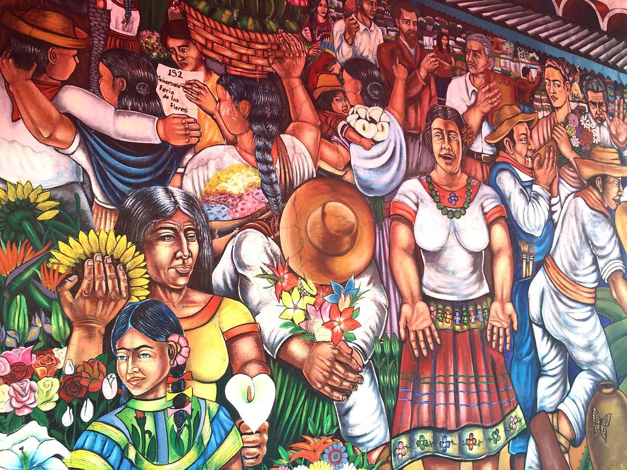Filefragmento Del Mural Mercado De Las Flores De San Angeljpg