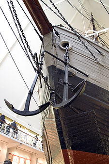 The prow of Fram, as seen in the Fram Museum in 2010. Framprow.jpg