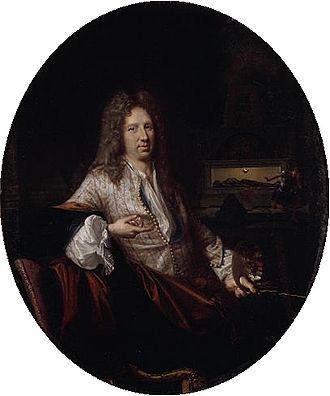 René-Antoine Houasse - Portrait of René-Antoine Houasse by François Jouvenet