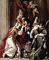 Francesco Fontebasso - Mystic Marriage of St Catherine with St Therese - WGA7993.jpg