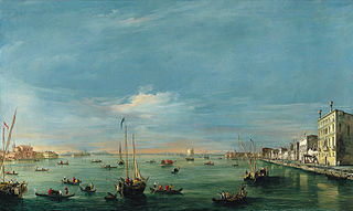 View of the Giudecca Canal and the Zattere