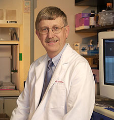 Francis Collins at the National Human Genome Research Institute
