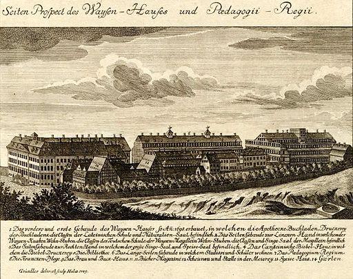 Franckesche Stiftungen 1749