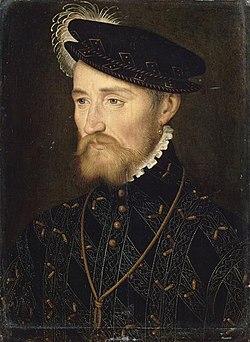 François Ier de Lorraine, duc de Guise, portrait par François Clouet.