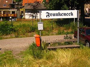 Frankeneck - Frankeneck Railway halt