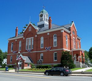 Franklin County, Maine - Image: Franklin County Courthouse Farmington 5