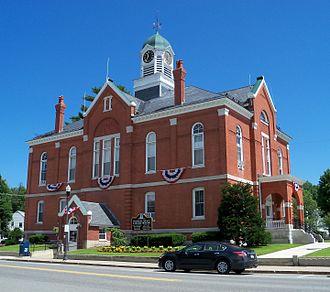 Franklin County, Maine - Image: Franklin County Courthouse Farmington 5