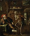 Frans Francken II (1581-1642) - An Allegory of Death and the Rich Man - 959419 - National Trust.jpg