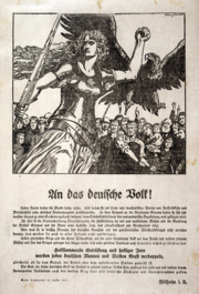 Franz Stassen - WWI - An das deutsche Volk