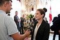 Frauen-Fußballnationalmannschaft Österreich EM 2017 Empfang Bundespräsident 41 Nina Burger.jpg