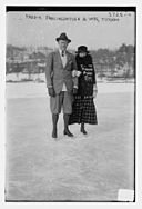 Frederick Frelinghuysen (September 30, 1848 – January 1, 1924) with his wife in Tuxedo, New York in 1915-1916.jpg