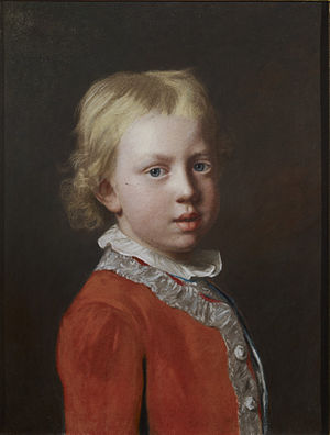 Prince Frederick of Great Britain - Frederick aged 4 by Jean-Étienne Liotard