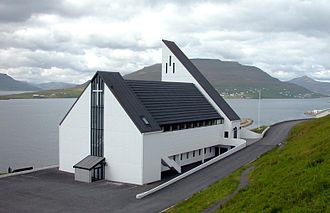 Toftir - Frederik's Church in Nes