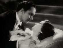 Fredric March-Evelyn Venable in Death Takes a Holiday trailer.jpg