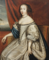 French School - Françoise Madeleine d'Orléans, Duchess of Savoy.png