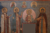 Frescos in Cathedral of the Archangel in Moscow - west wall 03.png