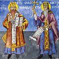 Freska na Sv. Kiril i Metodij od Sv. Pantelejmon Svetanski.jpg
