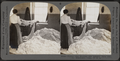 Frisons after washing. Silk industry (spun silk), South Manchester, Conn., U.S.A, by Keystone View Company.png