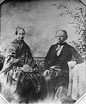 Ludwig und Emilie Uhland auf einer Kalotypie von 1846 (Quelle: Wikimedia)