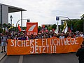 Front of the Seebrücke demonstration Berlin 06-07-2019 06.jpg
