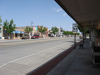Fort Sumner, New Mexico - Along U.S. Route 84 in Fort Sumner