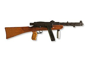 English: Furrer submachine gun
