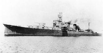Japanese cruiser Furutaka - Furutaka in Nagasaki, 1926