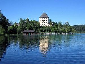Schloss Fuschl - Seen from the lake