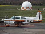 G-BEZH AA5 Traveller (25844444864).jpg