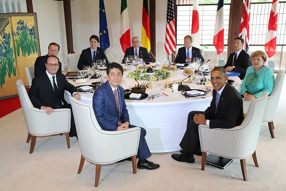 G7 summit at Shimakan