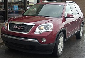Super Gmc Acadia Wikipedia Gmtry Best Dining Table And Chair Ideas Images Gmtryco