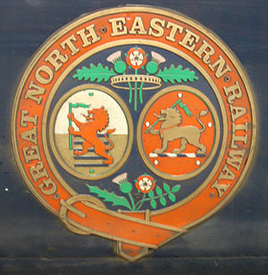 Great North Eastern Railway - The GNER crest