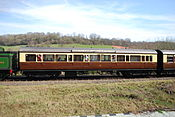 GWR Churchward 57 Brake Unclassified Saloon No.9369 (7047805767).jpg