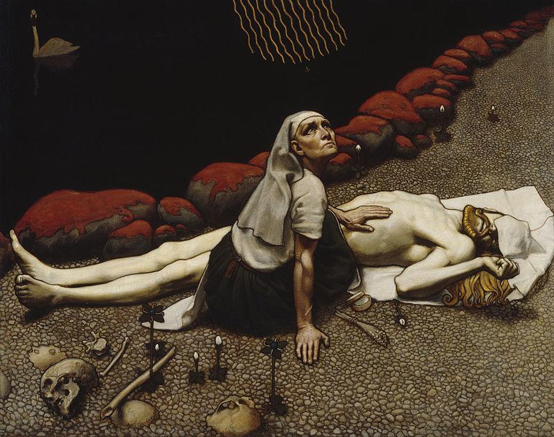 Akseli Gallen-Kallela (1865 – 1931) 800px-Gallen_Kallela_Lemminkainens_Mother