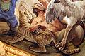 Galleria di luca giordano, 1682-85, giustizia 06 inganno, tigre.JPG
