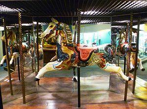 Museum of Childhood (Edinburgh) - Image: Galloper Horse