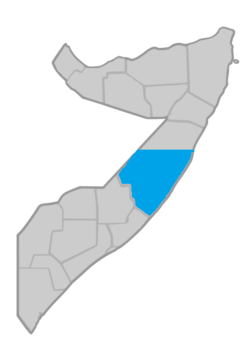 Territory of Galmudug (according to [1])
