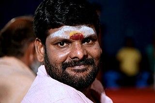 Ganja Karuppu Indian actor
