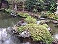Garden in Namikawa Cloisonne Museum of Kyoto.JPG